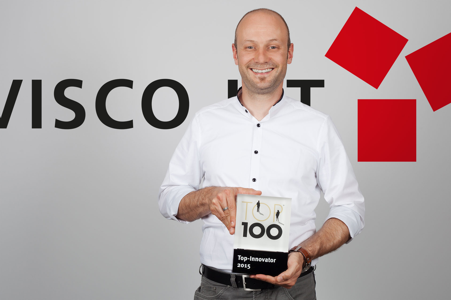 Timo Weber with Top 100 Award