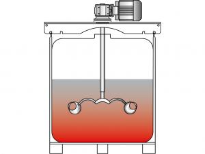 Container-Rührwerk Visco Jet 300 350