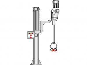 Transportbehälter-Stativrührwerk VJ460