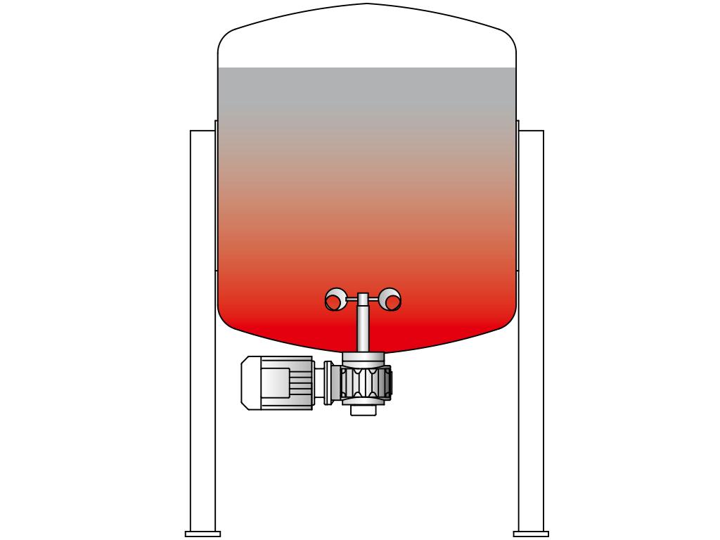 Tank-Rührwerk VJ600
